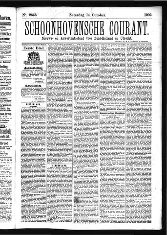 Schoonhovensche Courant 1905-10-14