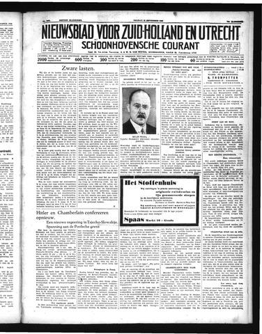 Schoonhovensche Courant 1938-09-23