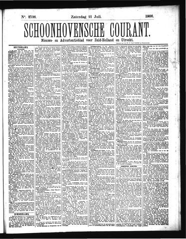 Schoonhovensche Courant 1906-07-21