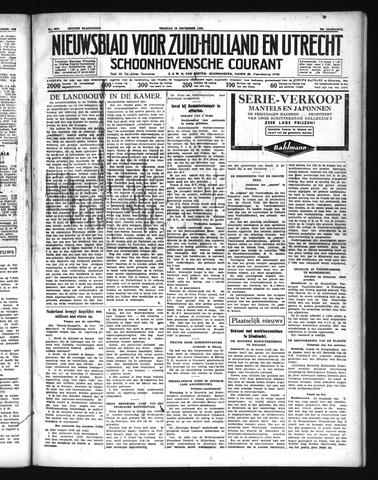 Schoonhovensche Courant 1938-12-16