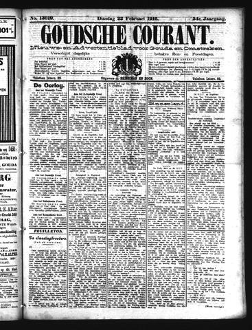Goudsche Courant 1916-02-22