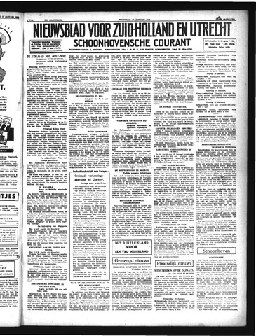 Schoonhovensche Courant 1942-01-14