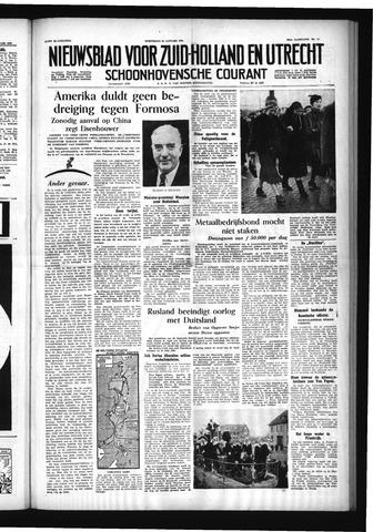 Schoonhovensche Courant 1955-01-26