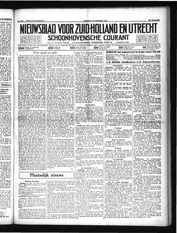 Schoonhovensche Courant 1934-11-28