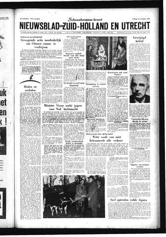 Schoonhovensche Courant 1959-11-13