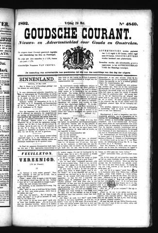 Goudsche Courant 1892-05-20
