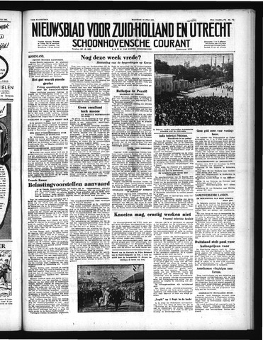 Schoonhovensche Courant 1951-07-14