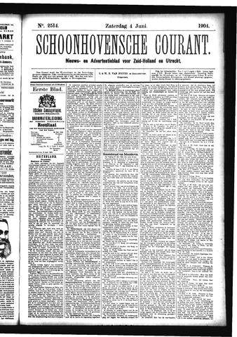 Schoonhovensche Courant 1904-06-04