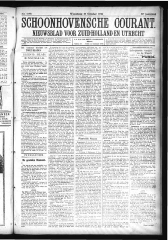 Schoonhovensche Courant 1926-10-27