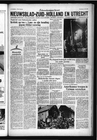 Schoonhovensche Courant 1965-07-21
