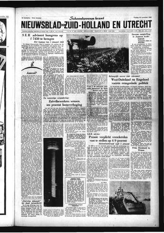 Schoonhovensche Courant 1959-11-20
