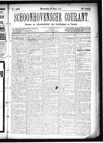 Schoonhovensche Courant 1921-05-23