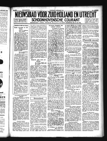 Schoonhovensche Courant 1941-09-17