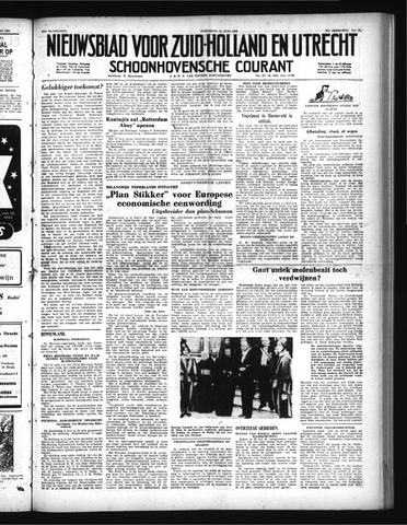 Schoonhovensche Courant 1950-06-14