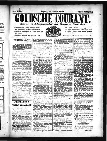 Goudsche Courant 1895-03-29