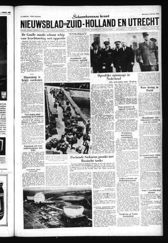 Schoonhovensche Courant 1962-10-08