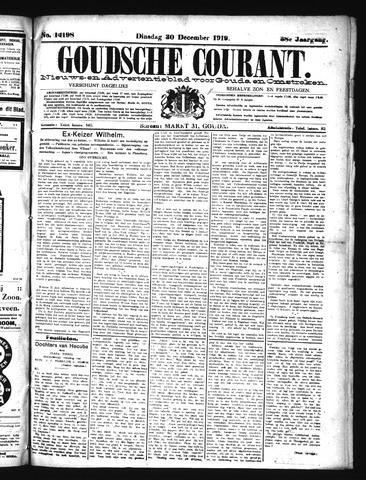 Goudsche Courant 1919-12-30