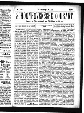Schoonhovensche Courant 1899-03-08