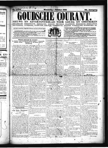 Goudsche Courant 1930-10-01