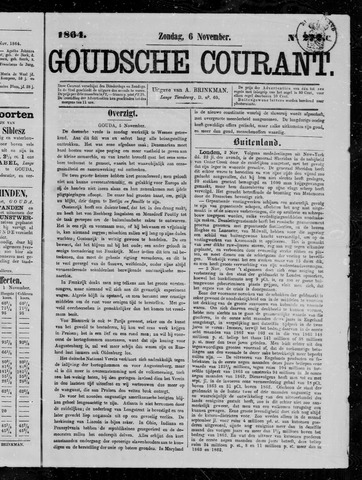 Goudsche Courant 1864-11-06