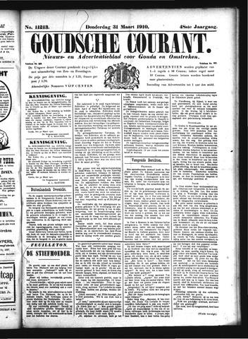 Goudsche Courant 1910-03-31