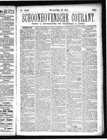 Schoonhovensche Courant 1913-05-28