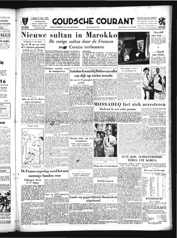 Goudsche Courant 1953-08-21