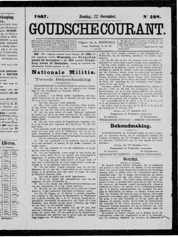 Goudsche Courant 1867-12-22