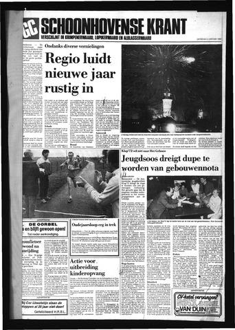 Schoonhovensche Courant 1988