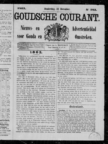Goudsche Courant 1863-12-31