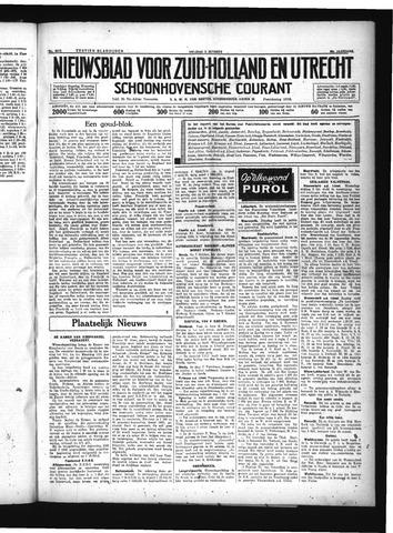 Schoonhovensche Courant 1934-10-05