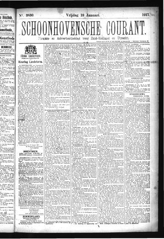 Schoonhovensche Courant 1917-01-19