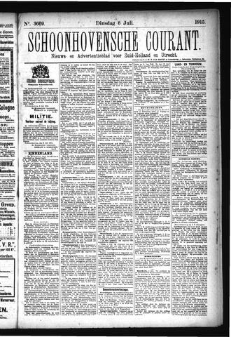 Schoonhovensche Courant 1915-07-06