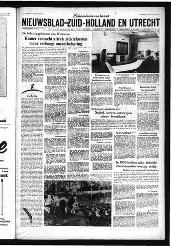 Schoonhovensche Courant 1967-11-15