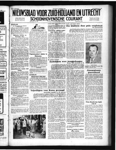 Schoonhovensche Courant 1950-08-14