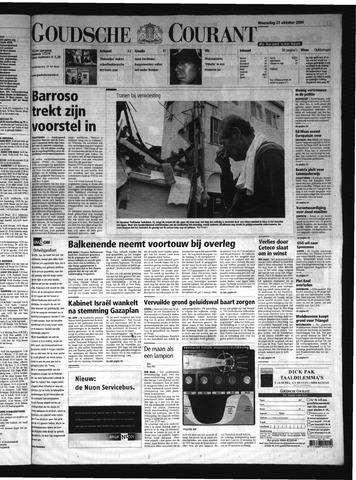 Goudsche Courant 2004-10-27