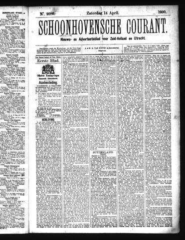 Schoonhovensche Courant 1900-04-14