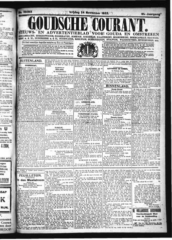 Goudsche Courant 1922-11-24