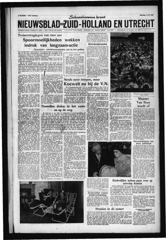 Schoonhovensche Courant 1961-07-03