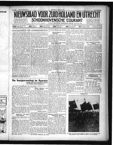Schoonhovensche Courant 1936-08-24