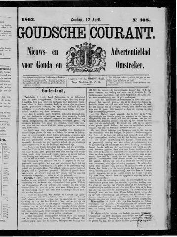 Goudsche Courant 1863-04-12