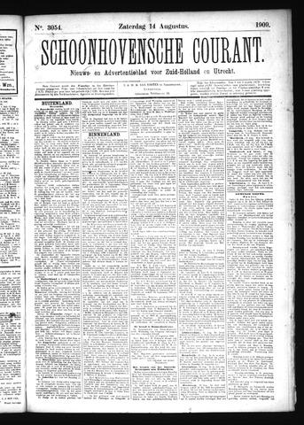 Schoonhovensche Courant 1909-08-14