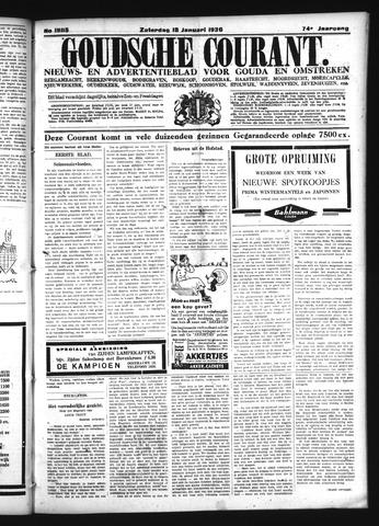 Goudsche Courant 1936-01-18