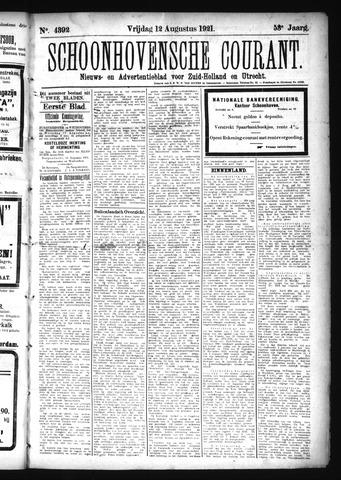 Schoonhovensche Courant 1921-08-12