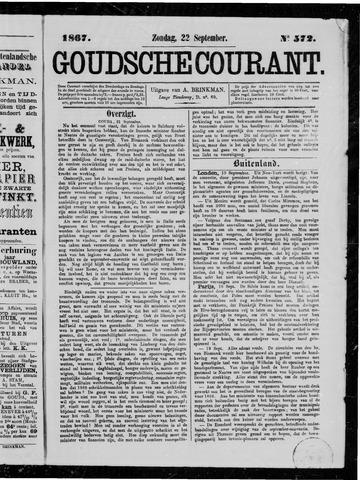 Goudsche Courant 1867-09-22