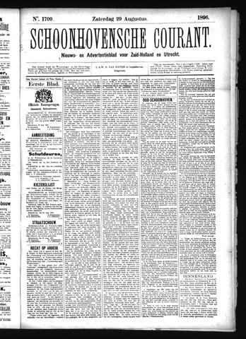 Schoonhovensche Courant 1896-08-29