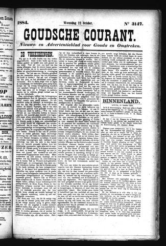 Goudsche Courant 1884-10-22