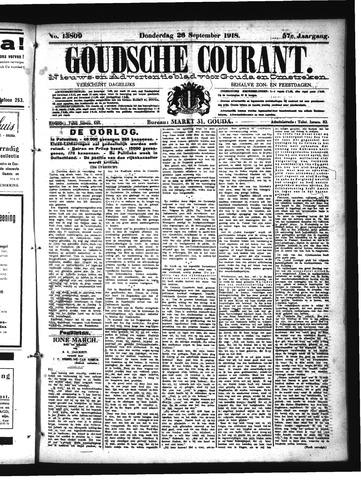Goudsche Courant 1918-09-26