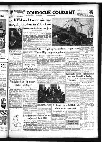 Goudsche Courant 1958-04-09