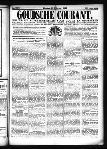 Goudsche Courant 1930-02-25